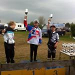 Luca podium